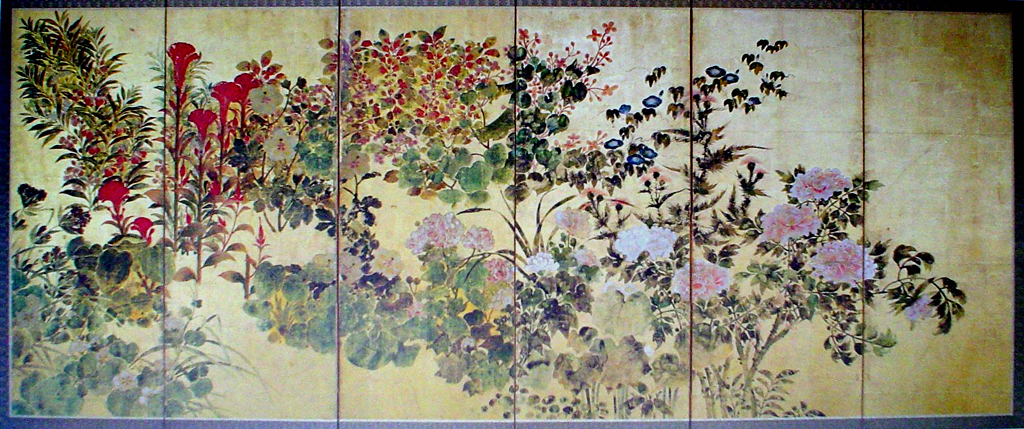 Forest Flowers by unknown Japanese artist