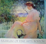 Eleanor by Frank Benson, Museum of Fine Arts Boston - offset lithograph fine art poster print