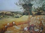 The Harvesters by Pieter Breughel