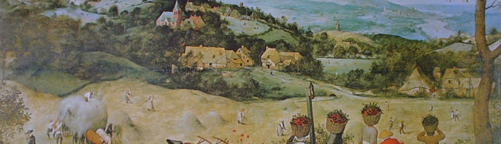 The Haymaking by Pieter Breughel