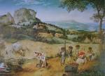 The Haymaking by Pieter Breughel