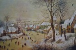 Winter Landscape With Birdtrap by Pieter Breughel