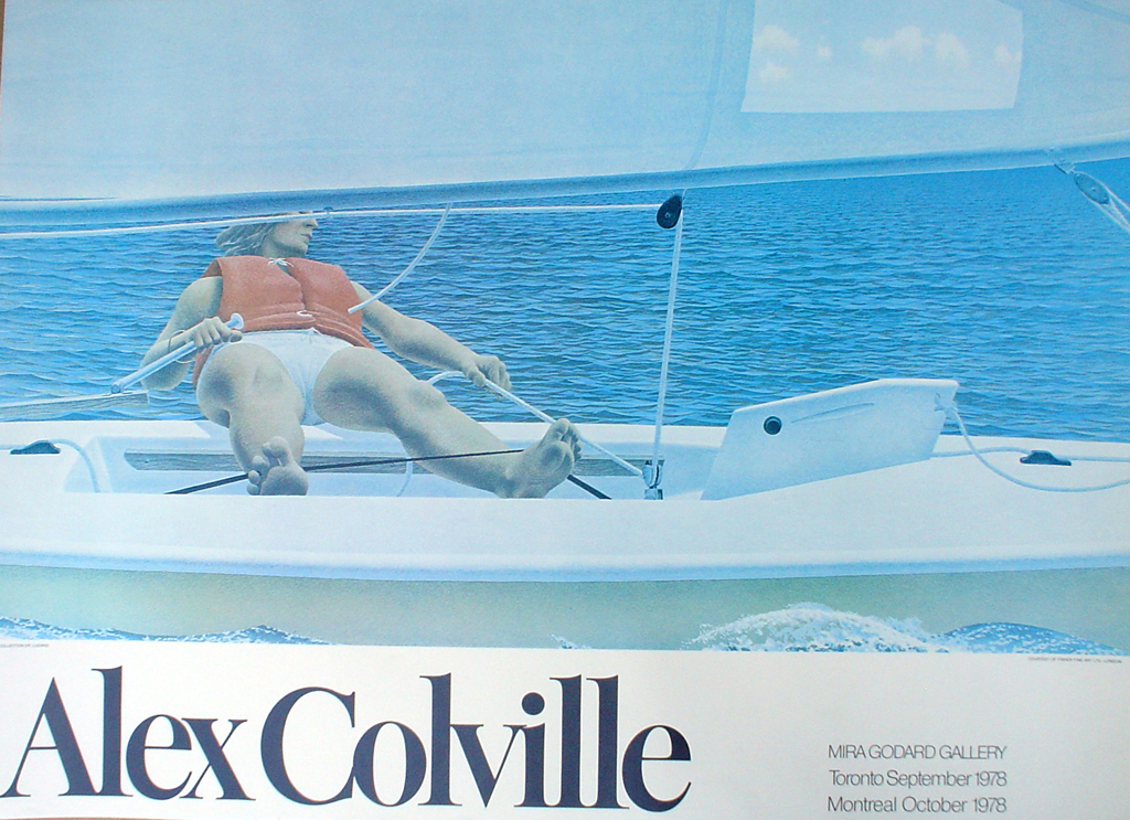 Sailing by Alex Colville