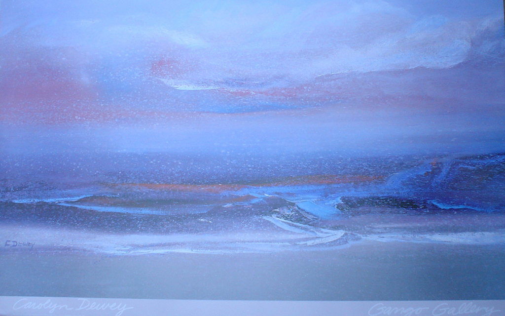 Sea Clouds, Gango Gallery by Carolyn Dewey