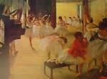 Ballet School by Edgar Degas