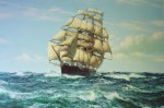 Racing Home Cutty Sark by Montague Dawson