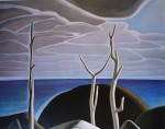 Lake Superior by Lawren Harris- Group of Seven offset lithograph fine art print