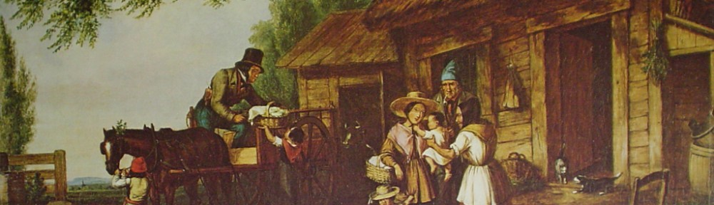 Going To Town To Market by Cornelius Krieghoff