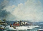 Winter Landscape by Cornelius Krieghoff