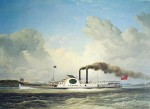 The Steamship Quebec by Cornelius Krieghoff
