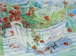 Poppies In A Tub by Elizabeth Jane Lloyd