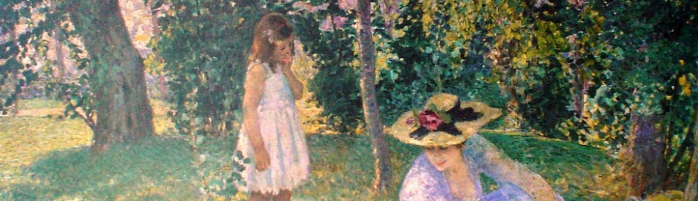 Lunch On The Lawn by Henri LeBasque