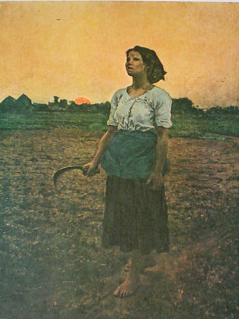 The Song of the Lark by Jules Breton | Kerrisdale Gallery
