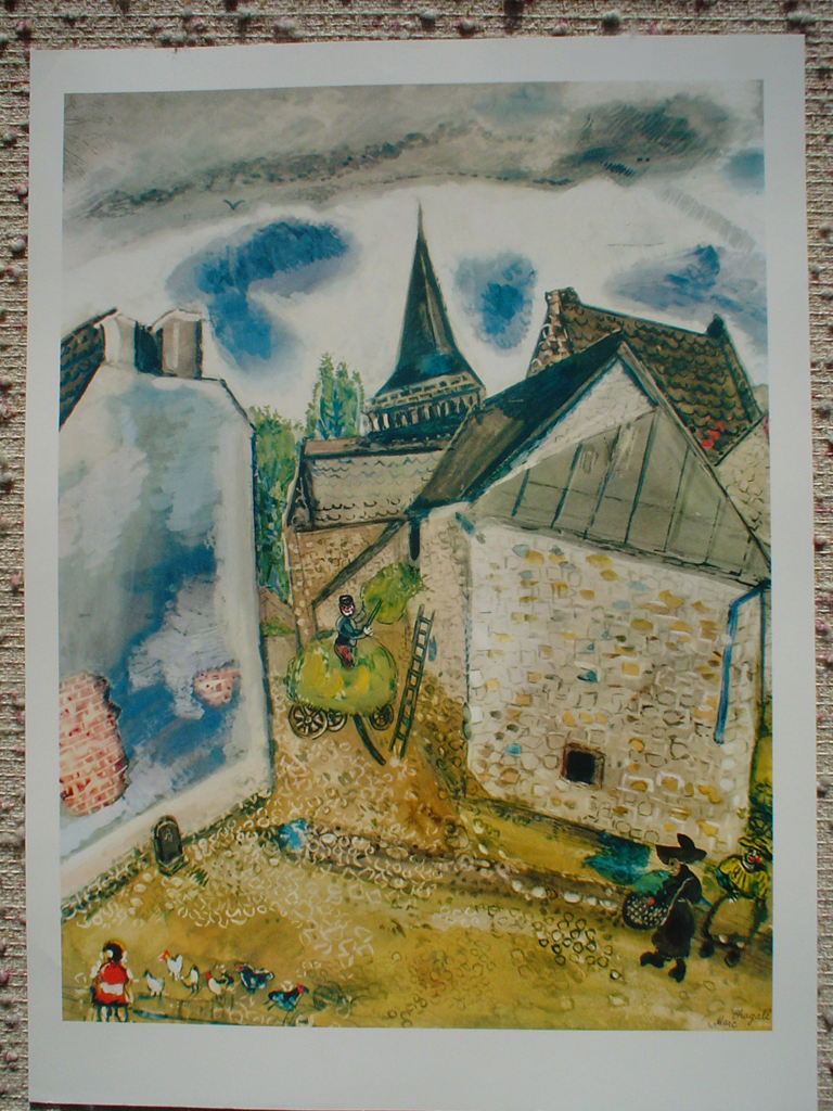 Chambon by Marc Chagall (with margins)