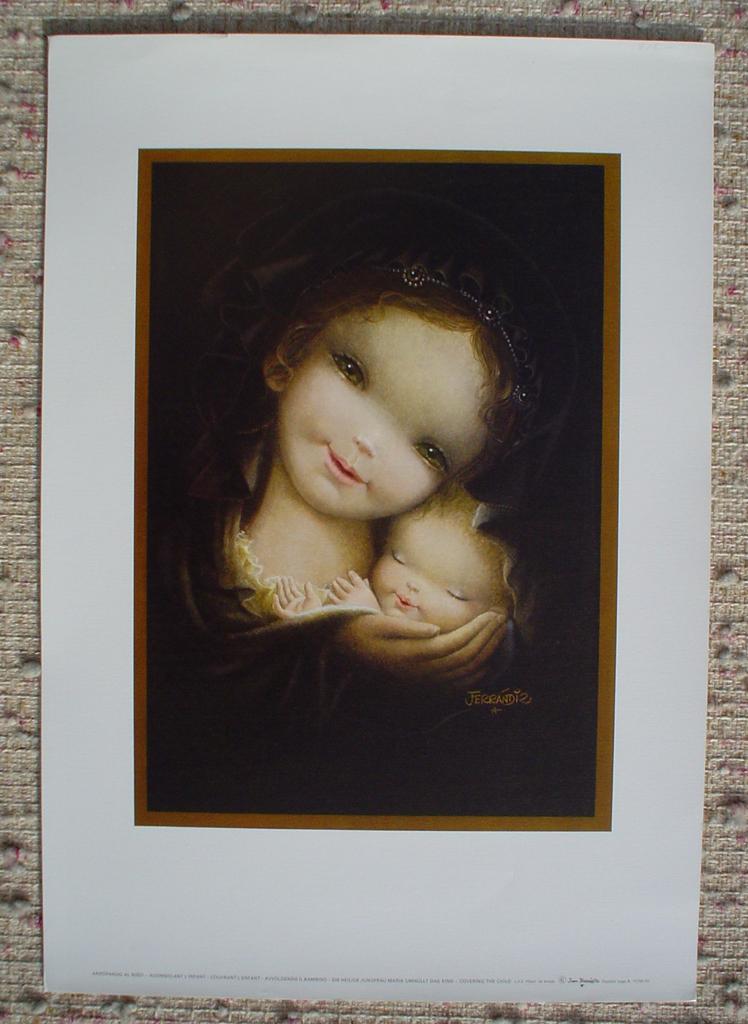 Covering the Child by Juan Ferrandiz (with margins)