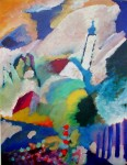 Church in Murnau by Wassily Kandinsky