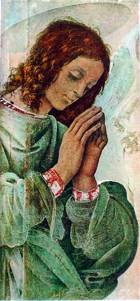 The Praying Angel by Filippino Lippi - collectible collotype fine art print