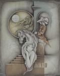 Krebs / Cancer by Ruediger Brassel - original etching, signed and numbered 53/ 125