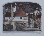 Lost Sole by Graham Clarke - original etching, signed and numbered 327/ 350
