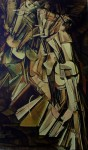 Nude Descending A Staircase, No. 2 by Marcel Duchamp - collectible collotype fine art print