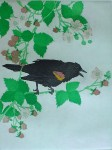 Spring Song by Nancy Leslie - original etching, signed and numbered edition of 150