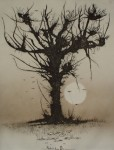 Phantasie Tree by Udo Nolte - original etching, signed and numbered 28/ 200