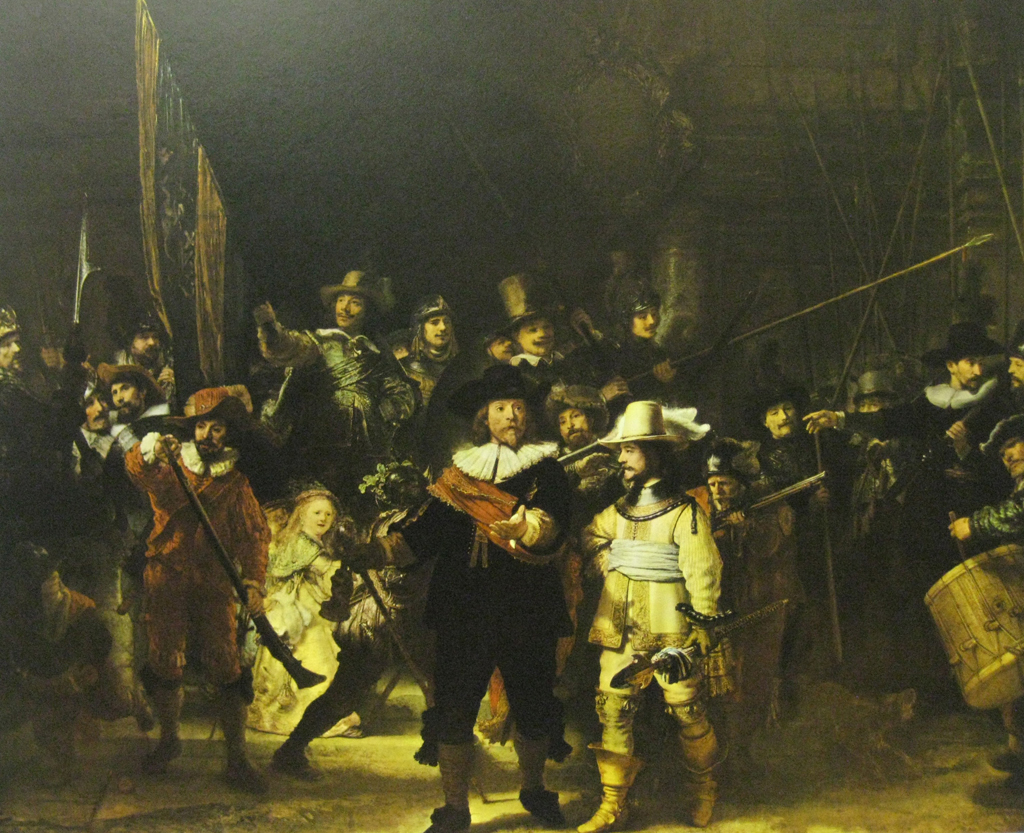 The Night Watch by Rembrandt Harmenszoon Van Rijn - offset lithograph fine art print
