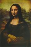 Mona Lisa by Leonardo Da Vinci - offset lithograph art print