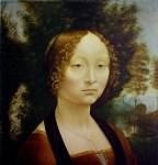 Ginevra De Benci by Leonardo Da Vinci - collectible collotype print