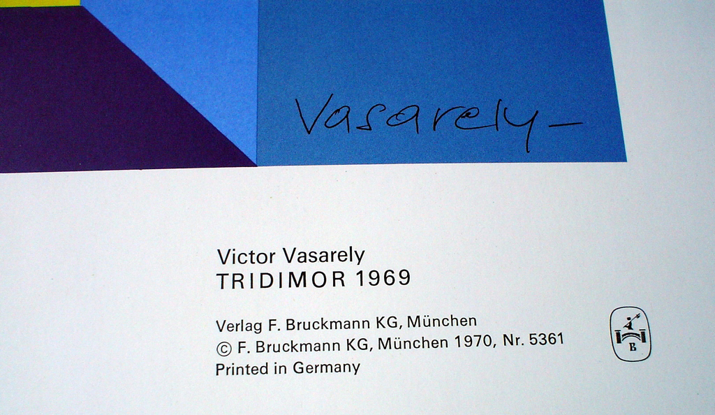 Tridimor 1969 (Detail) by Victor Vasarely