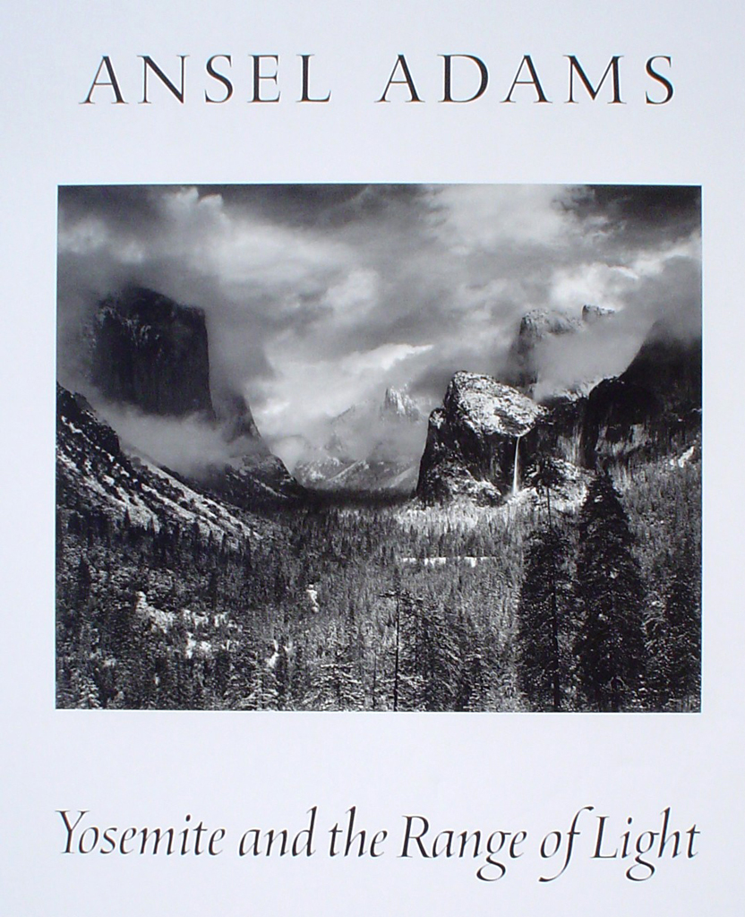 Clearing Winter Storm Yosemite by Ansel Adams - offset lithograph fine art photographic poster print