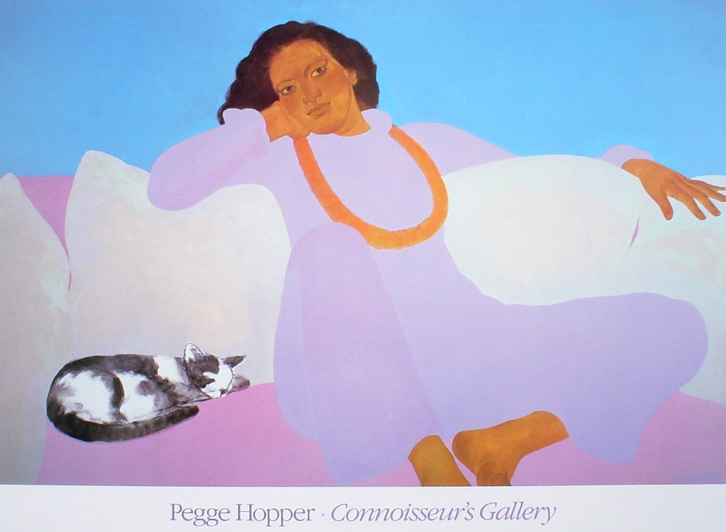 Connoisseur's Gallery by Pegge Hopper - fine art poster print