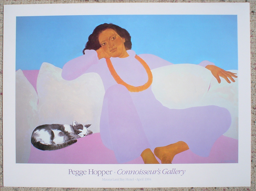 Connoisseur's Gallery by Pegge Hopper, shown with full margins - fine art poster print
