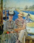 Argenteuil by Edouard Manet - collectible collotype fine art print