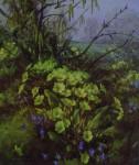 Spring Vista by Vernon Ward - offset lithograph fine art print