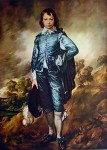 The Blue Boy by Sir Thomas Gainsborough - collectible collotype fine art print