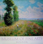 Poplars by Claude Monet - offset lithograph fine art poster print