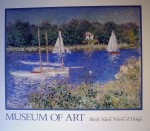 Le Bassin At Argenteuil by Claude Monet - offset lithograph fine art poster print