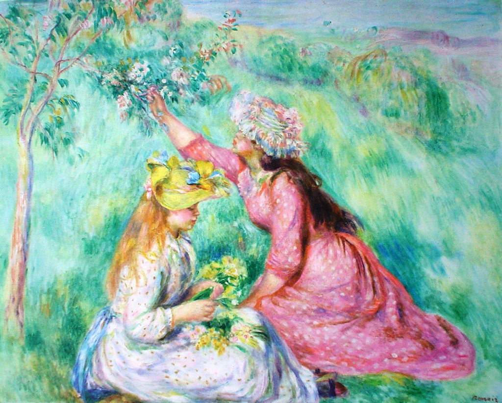Regret, that Renoir girl with flowers