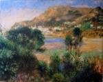 Landscape L'Esterel by Pierre-Auguste Renoir - offset lithograph fine art print