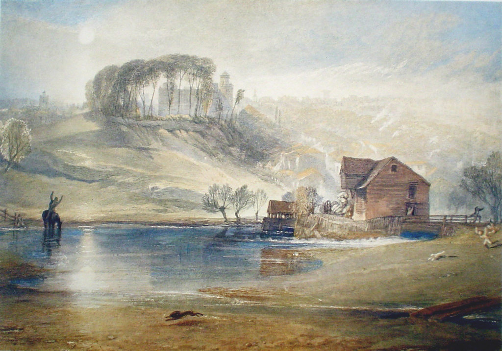 Colchester by Joseph Mallord William Turner - collectible collotype fine art print