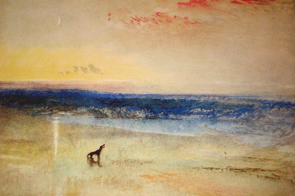 Dawn After The Wreck by Joseph Mallord William Turner - collectible collotype fine art print