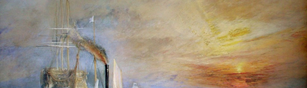 The Fighting Temeraire by Joseph Mallord William Turner - offset lithograph fine art print