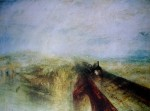 Rain Steam And Speed by Joseph Mallord William Turner - offset lithograph fine art print