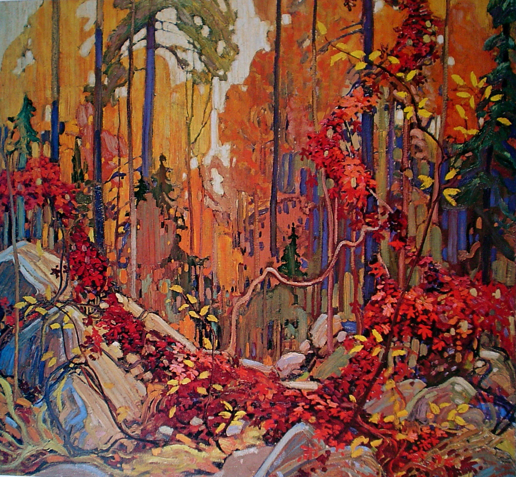 Autumn's Garland by Tom Thomson - Group of Seven offset lithograph fine art print