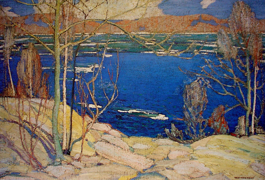thomson – Spring Ice (Sold) | Kerrisdale Gallery