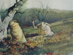 Nick And Jamie by Andrew Newell Wyeth - collectible collotype fine art print