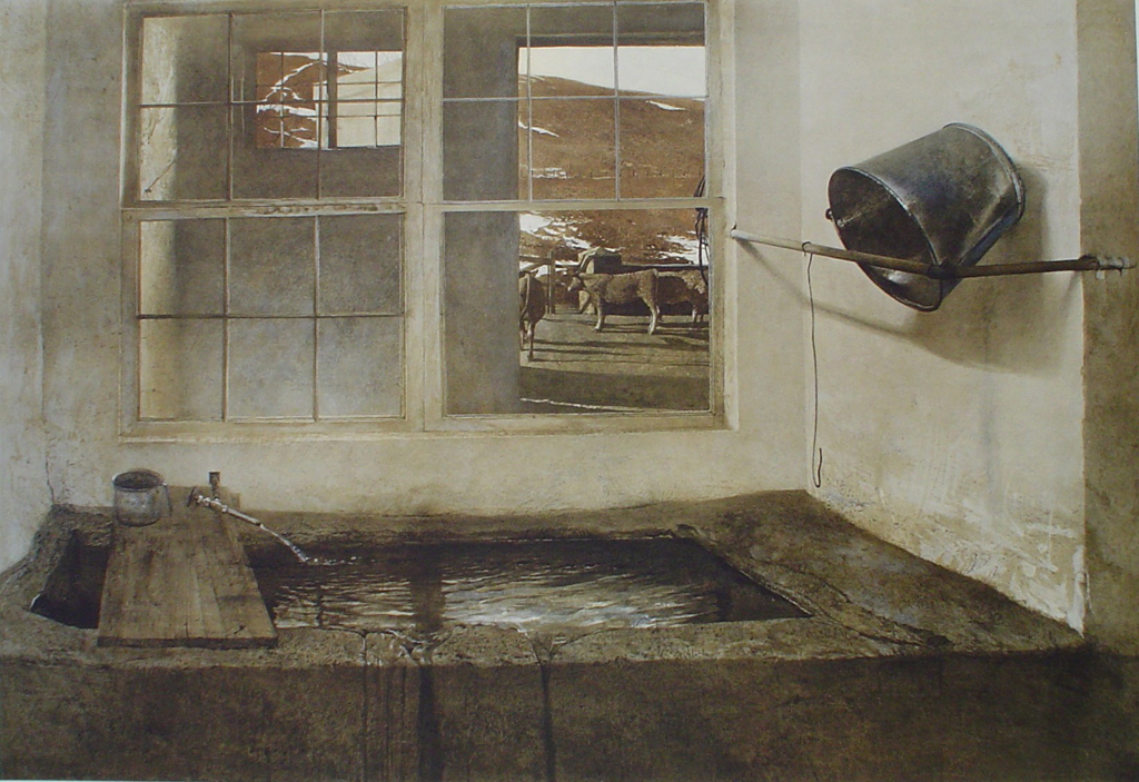 Spring Fed by Andrew Newell Wyeth - collectible collotype fine art print
