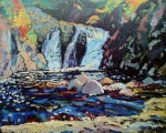 The Little Falls by James Edward Hervey MacDonald - offset lithograph fine art print
