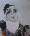 Portrait De Dora Maar by Pablo Picasso - offset lithograph fine art print